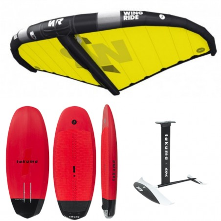 PACK ZK Compact 6'2+FOIL1600+WING 5M²