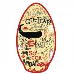 """Planche de skimboard 41"""" Pays Basque"""