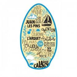 """Planche de skimboard 41"""" MEDITERRANEE"""