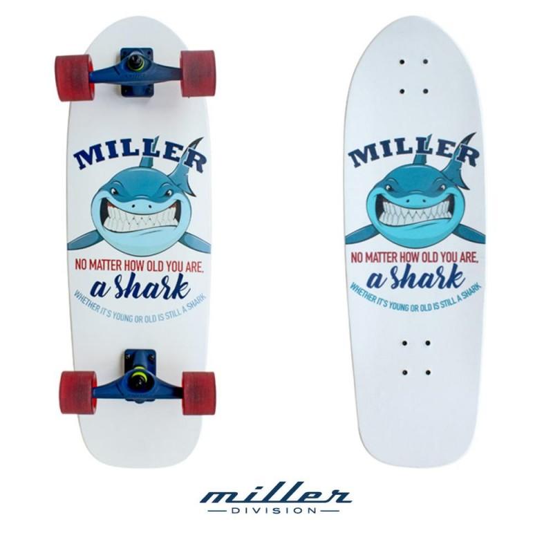 SURFSKATE MILLER SHARK 31.5 x 10