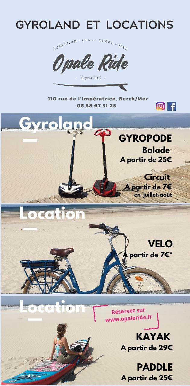 location gyroland velo paddle kayak